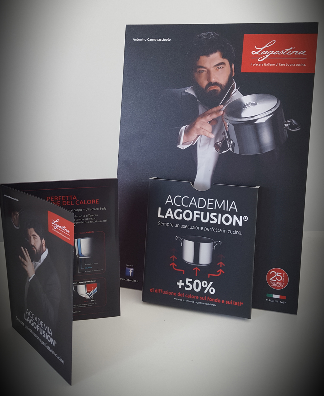 To be a line Ambassador the chef Cannavacciuolo becomes an exclusive Orchestra director
